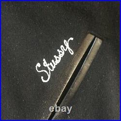 Stussy x Bedwin Japanese Stadium Varsity Leather & Melton wool Size 2 M RARE