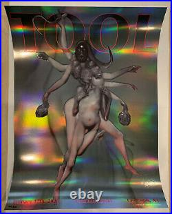 TOOL Poster T-Mobile Arena Las Vegas NV 1/17/2020 Limited Edition 407/850! MINT