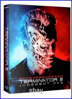 Terminator 2 Judgment Day 3D REGION-FREE LENTICULAR CASE STEELBOOK, Film Arena