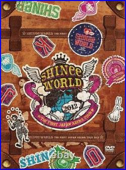 The First Japan Arena Tour SHINee World 2012 DVD LIMITED EDITION NEW SEALED