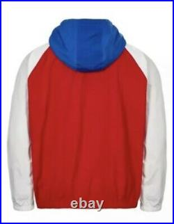 Vintage 90s Ralph Lauren Polo Sport Spell Out Windbreaker Jacket XL Stadium