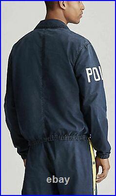 XXL Ralph Lauren Polo Stadium 1992 Jacket Limited Edition Indigo Pwing New